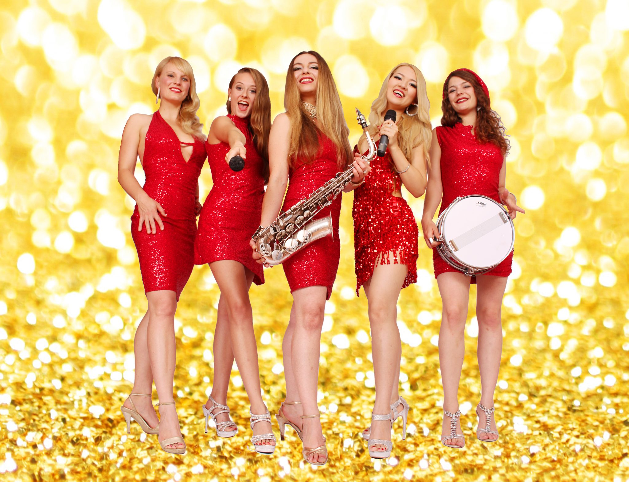 Damenband Princess Cut von Uta Sophie Halbritter, Partyband zum Tanzen feiern. Elegante Frauenband und Ladiesband zum Tanzen aus Berlin