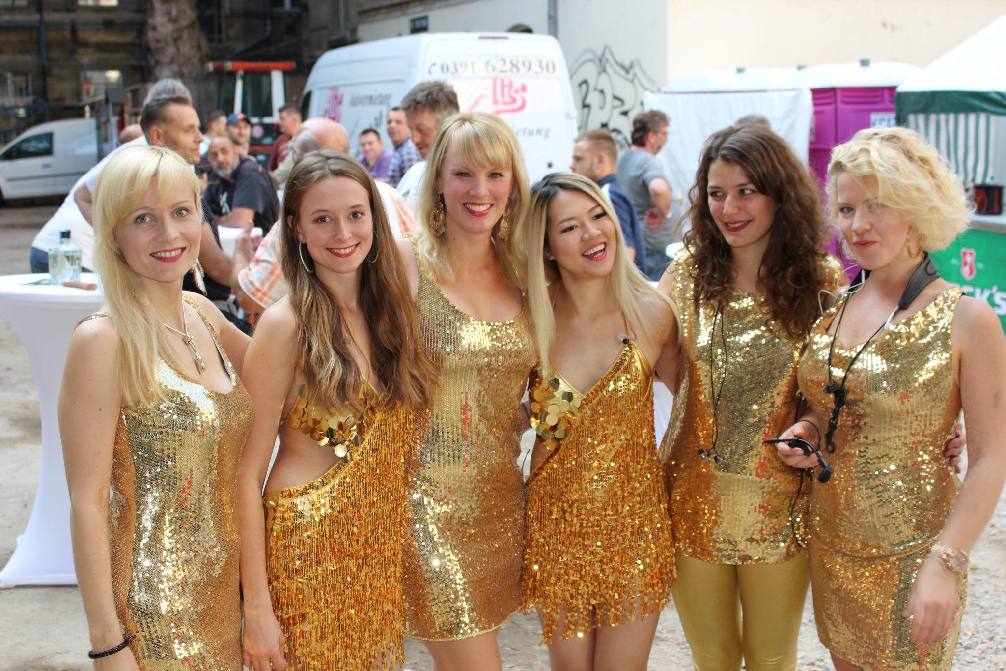 Damen-Partyband Princess Cut von Uta Sophie Halbritter ist eine Coverband und Damenband zum Feiern und Tanzen