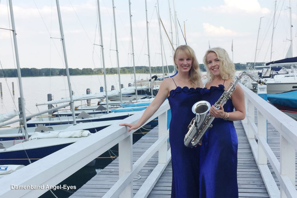 Dinnermusik mit der Damenband Angel-Eyes von Uta Sophie Halbritter