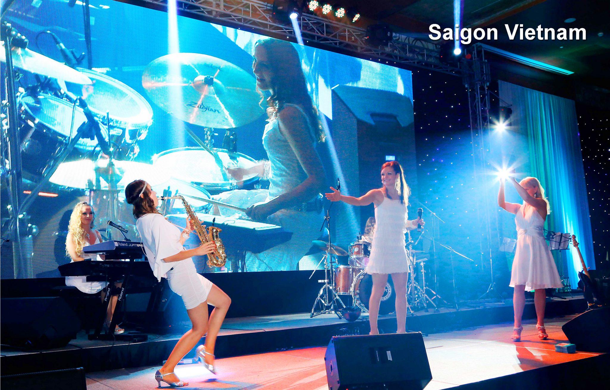 Partyband Princess Cut von Uta Sophie Halbritter. Damenband und Ladies Band für Events mit Tanzmusik