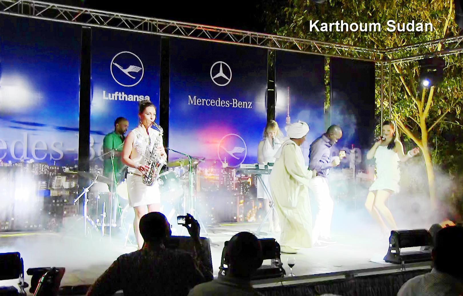 Damenband Princess Cut von Uta Sophie Halbritter, Partyband zum Tanzen feiern. Elegante Frauenband und Ladiesband zum Tanzen